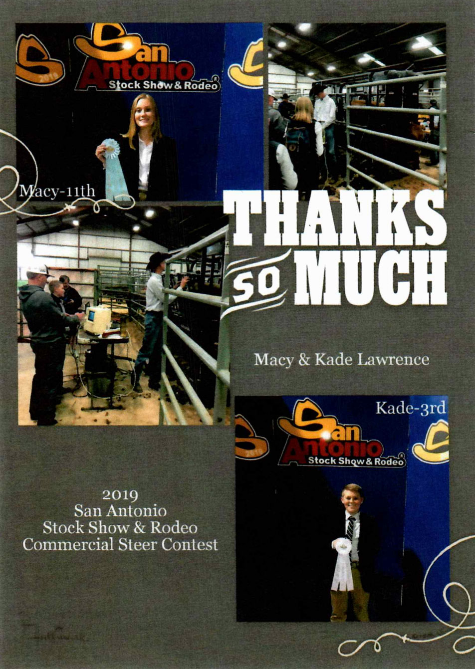 KRW Kares: Giving Back - Stock Show Scholarship
